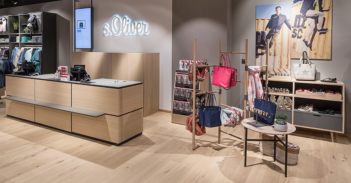 S Oliver Outfits New Store With Haro Parquet Columnist Floor Covering Weekly