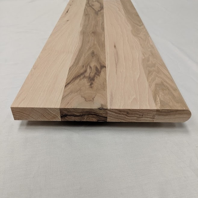 Hickory Stair Treads   Unfinished Hickory Stair Treads   Stair Nosing   Stairtek   Flooring   Stair Parts   Wood