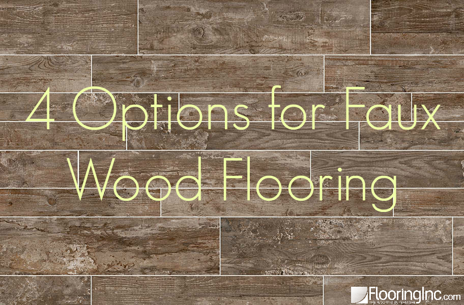 4 options for faux wood flooring