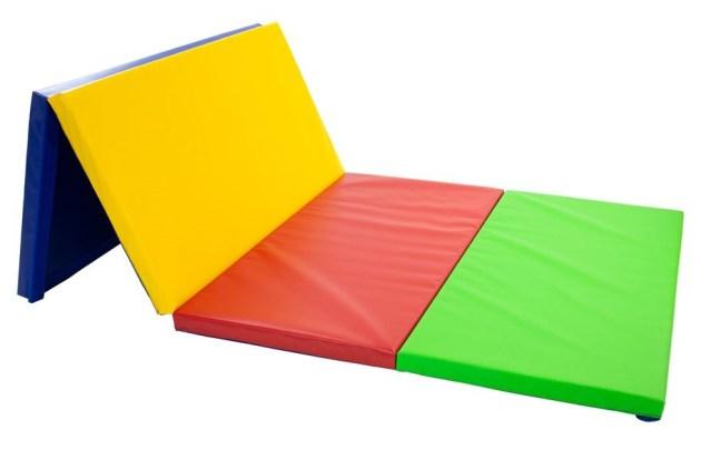 Jimnastik Minderleri SSS: 4'x8'x2 Eko Katlanır Paspaslar