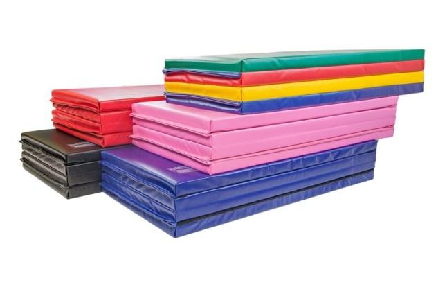 Jimnastik Minderleri SSS: 4'x8'x2 Katlanır Paspaslar