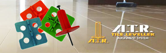ATR Leveling System, Tile leveling, lippage free, wedges, atr plastic, spacers, flat surfaces, RTC Tornado Leveling System, Tuscan Leveling System, Raimondi Leveling