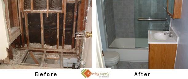 subfloor, backer board, cement board, self leveling, plywood subfloor, DIY