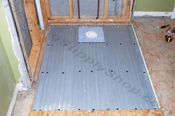 ClearPath Shower System, Curbless Shower Pan, Handicap Shower Pan, Ready To Tile  Shower