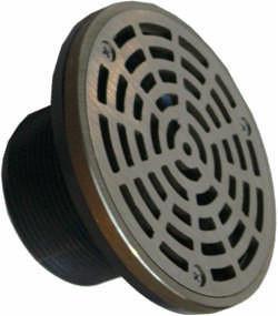 Ebbe square shower drain, deco shower drain