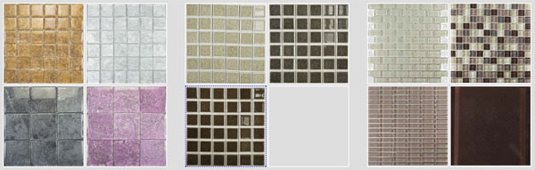 Glass Tile with or without stone will give your tiled kitchen backsplash or tiled bath the perfect wall accent with these glass tiles and mosaics in a myriad of stunning colors by flooringsupplyshop.com