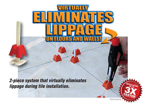 The Tuscan Leveling System is an innovative product that will greatly assist most anyone in, the installation of stone and ceramic tiles.