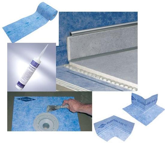 waterproofing membrane, composeal blue, Pan liner, sheet membrane, liquid waterproofing, blanke aqua shield, C-Cure Pro red 986 waterproofing membrane