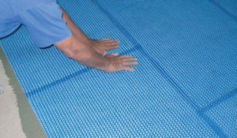 Blanke Permat  the ultimate uncoupling underlayment for residential and commercial Projects. by flooringsupplyshop.com