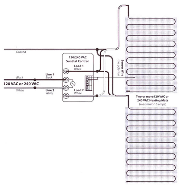 240 volt radiant heating wire diagram 37 wiring diagram for Radiant heat wire