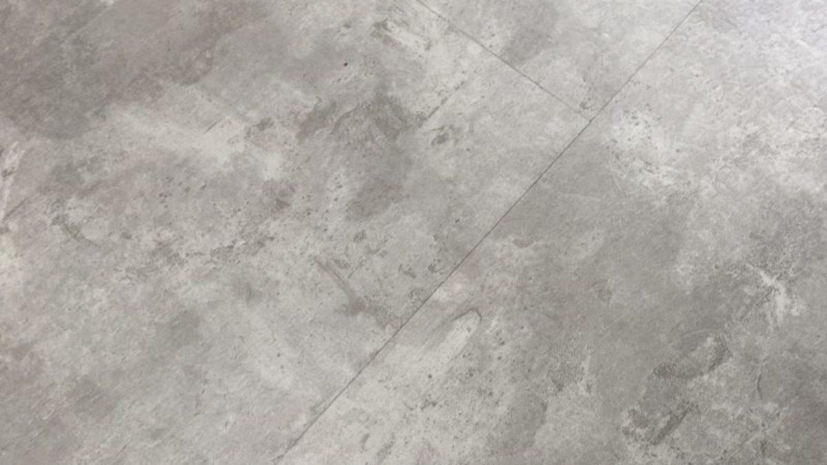 4mm concrete tile effect luxury vinyl click flooring