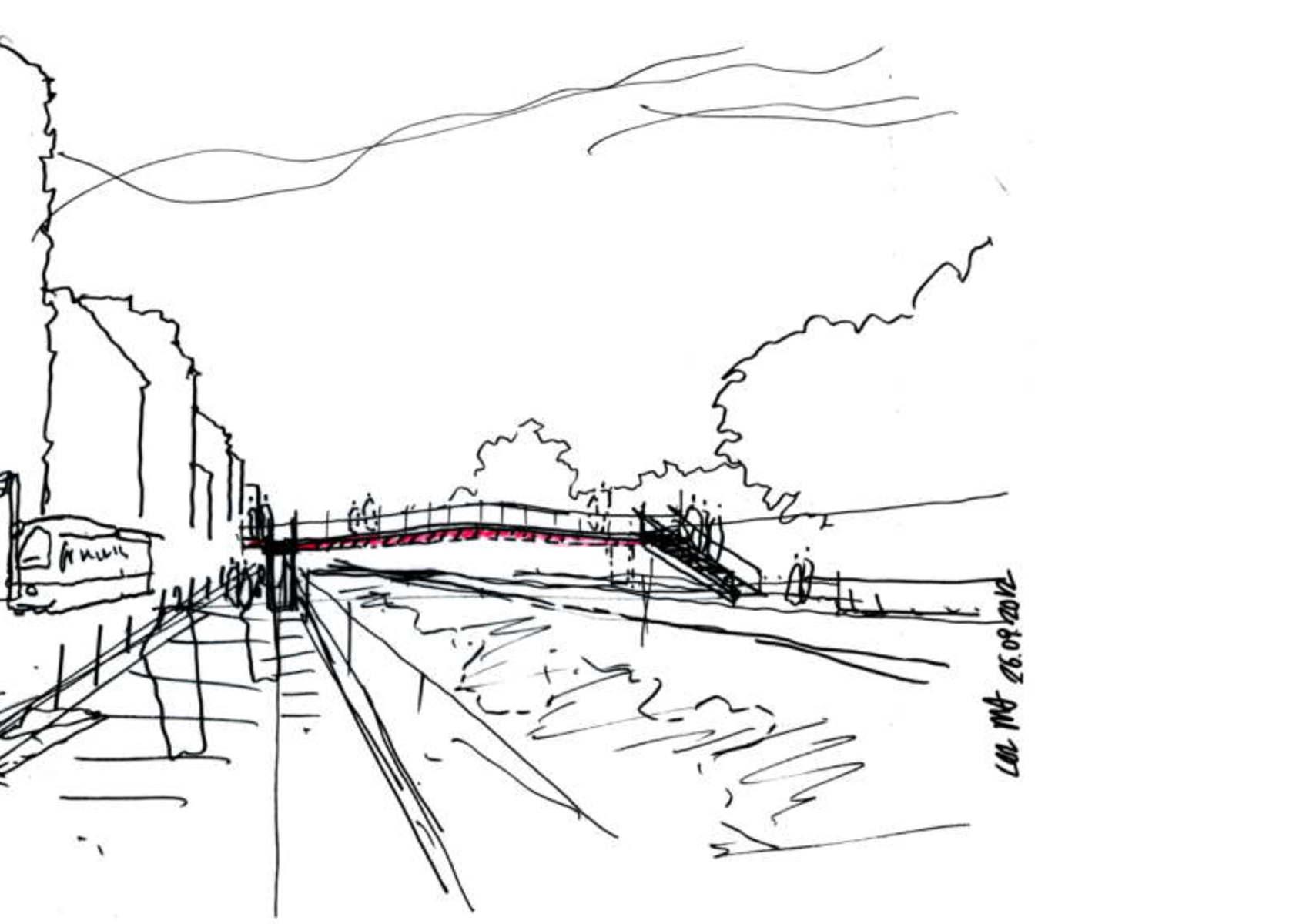 Milan Pedestrian Bridge Over The C S Inaugurated