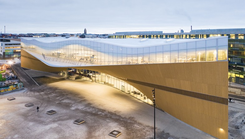 Ala Architects Helsinki Oodi Central Library And Architecture For Culture In Finland Floornature