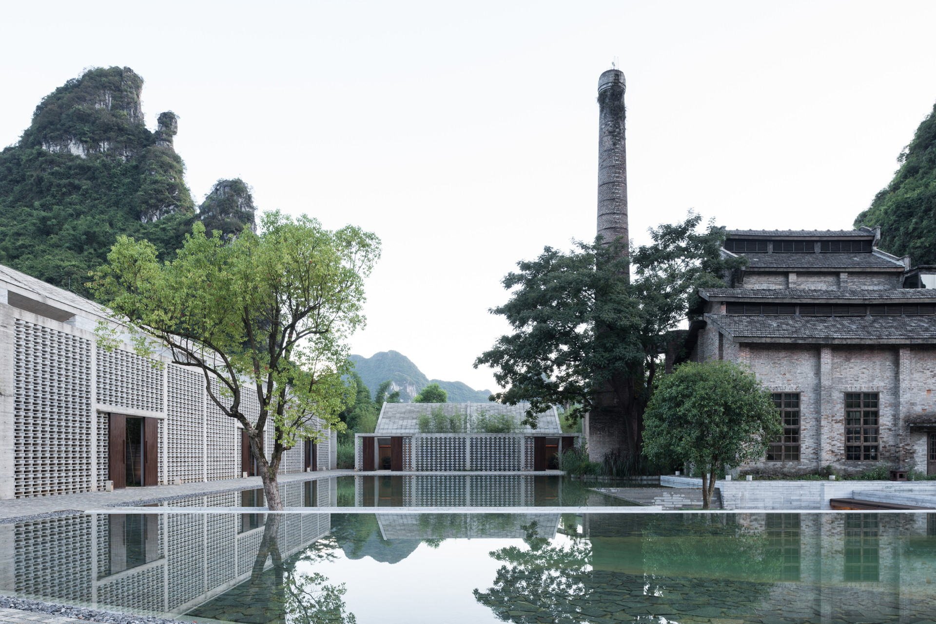 Le Cabinet Vector Architects Signe L Ho Tel Alila Yangshuo A Yangshuo Chine