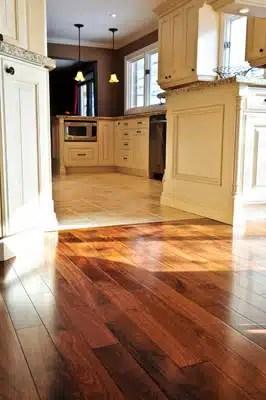 Hardwood flooring and installation