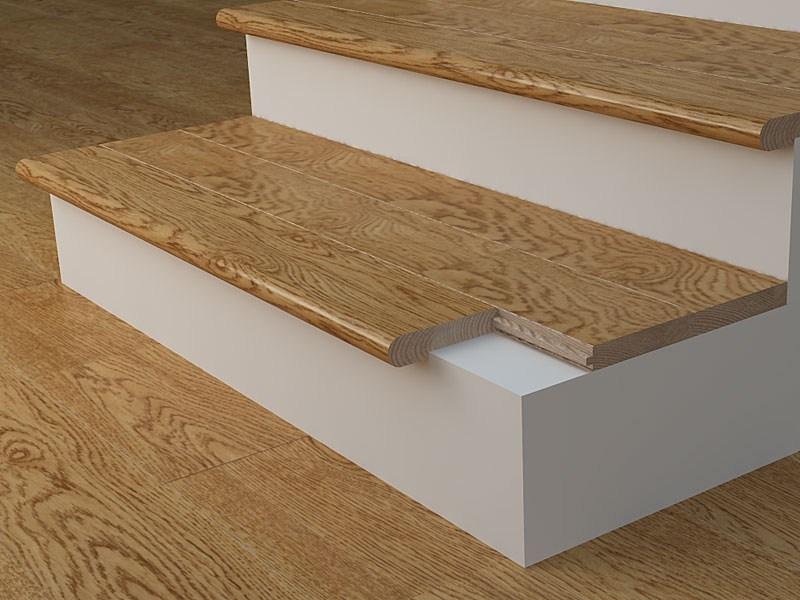 Stair Nosing What Is Its Purpose Blog Floorsave | Wood Floor Stair Treads | Brazilian Cherry | Stair Nosing | Oak Stair Risers | Vinyl Flooring | Carpet