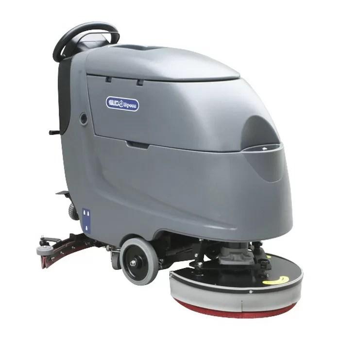 floor scrubber dryer machine walk behind floor scrubber