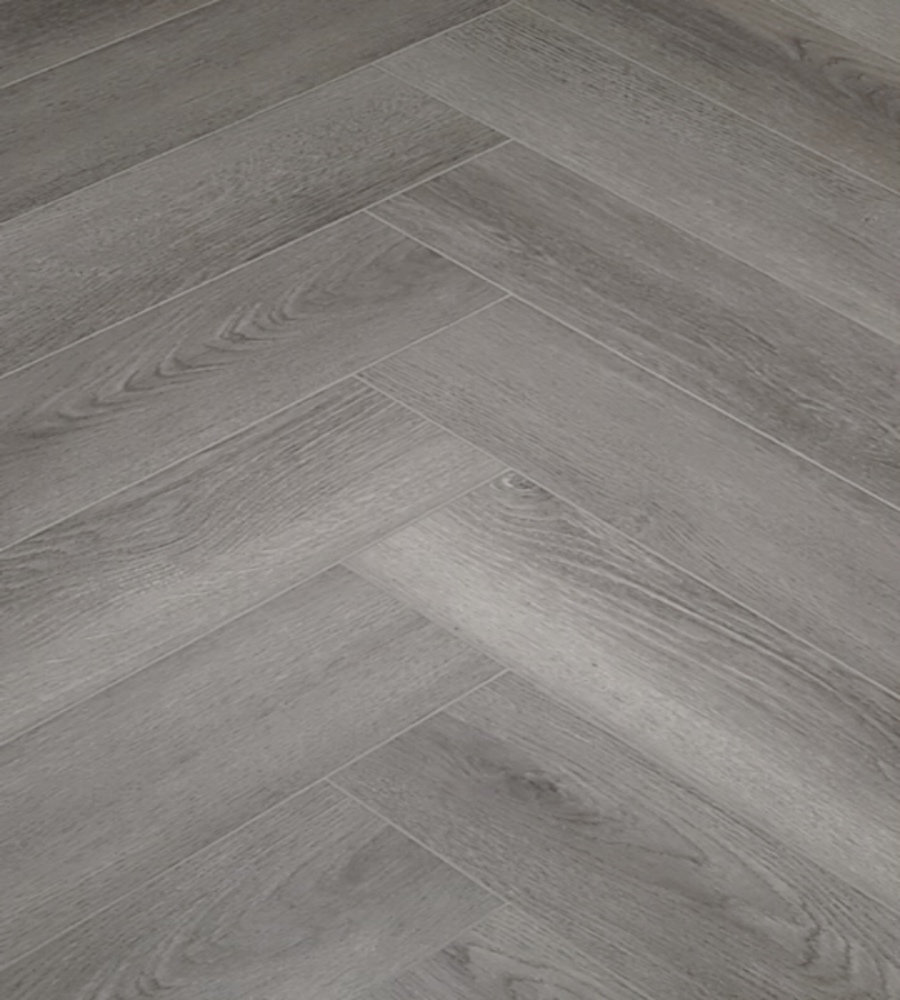 grey oak herringbone 5mm spc luxury vinyl flooring tiles lvt click flooring