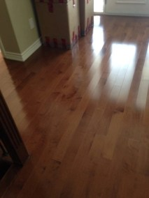 Gleaming hardwood floors installed by Floors Direct North