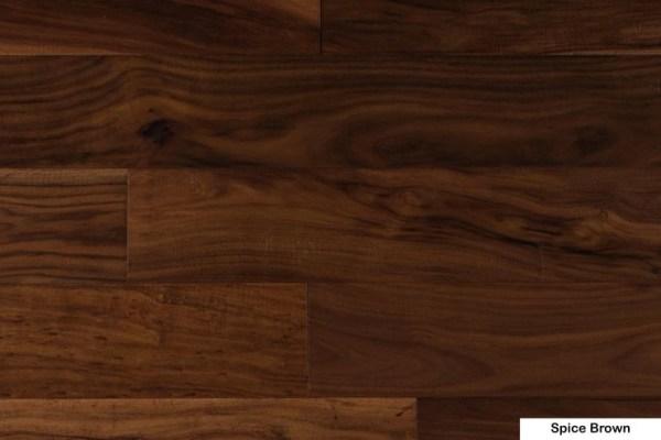 NAF Engineered Hardwood Handscraped T&G Exotic-Walnut Spice Brown @ Floors Direct North