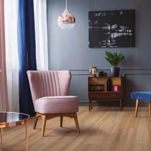 COREtec Galaxy Luxury Vinyl - Cartwheel Oak (room) @ Floors Direct North