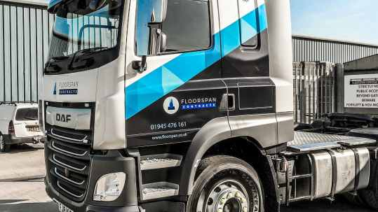 Precast Concrete Delivery Vehicle Floorspan