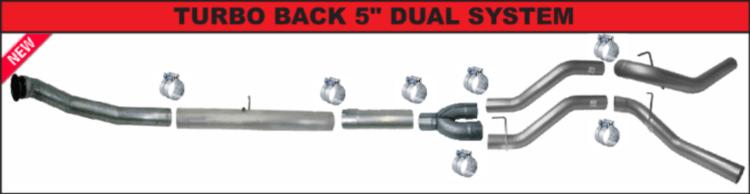 2013 2018 6 7l dodge diesel exhaust kits