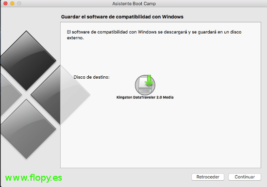 Guardar software de compatibilidad.