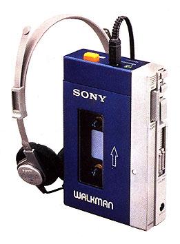 The first Sony Walkman, model TPS-L2 (1979)