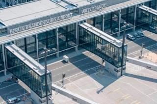 Der neue Flughafen (Foto: Günter Wicker / Flughafen Berlin Brandenburg)