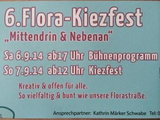 Flyer zum Kiezfest