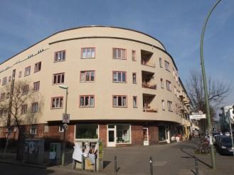 20er-Jahre-Architektur Florastraße Ecke Dusekestraße