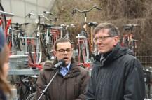 S-Bahnchef Peter Buchner und Staatssekretär Christian Gaebler © Michael Hielscher