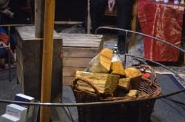 Der Ofen hält die Jurte kuschlig warm