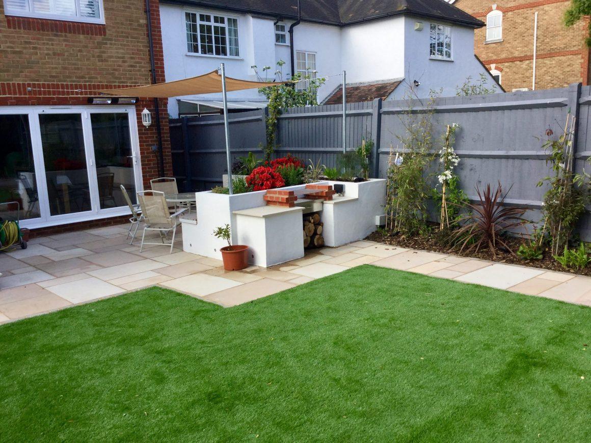 patio designs for small gardens