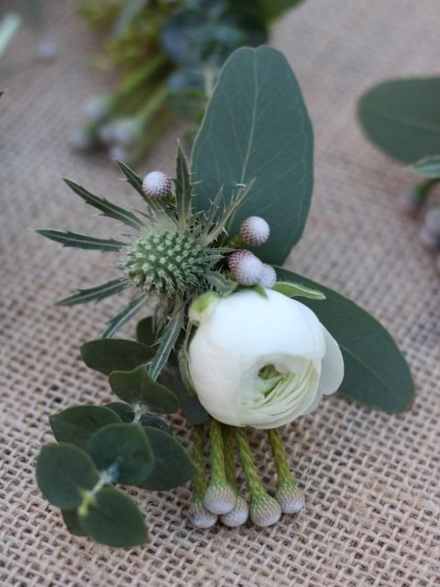 Ranunculus buttonhole