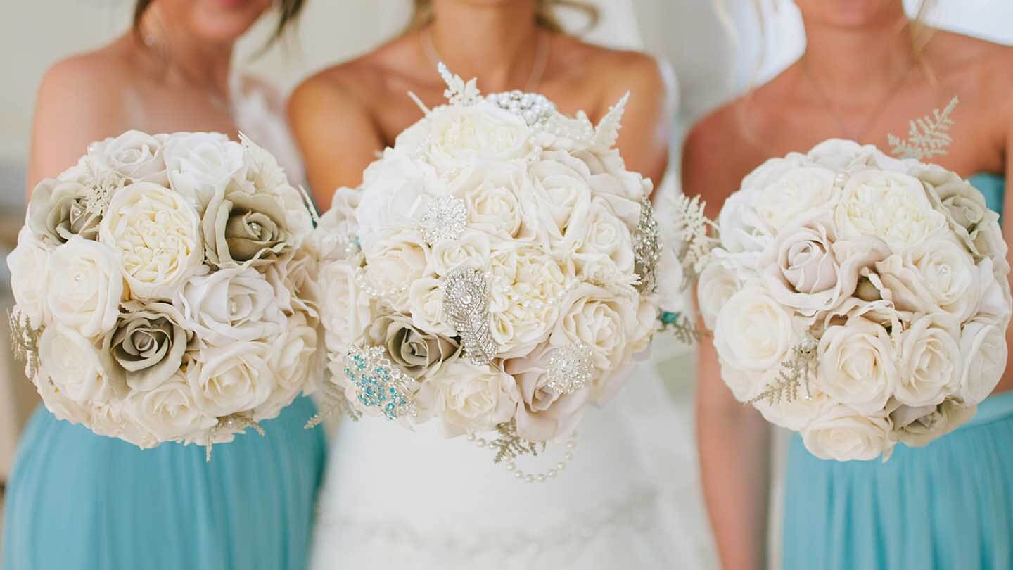 Floral Lounge Artificial Wedding Flowers