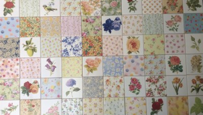Floral Tiles - Beautiful Ceramic Wall Tiles with Flower & Plant Designs