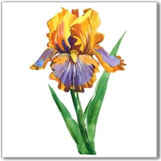 Warm & Bright Flower Tiles