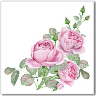 Pale Pink Rose Spray