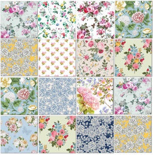 Printed Tiles - Eclectic Patchwork pattern example