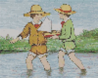 The Planet Earth Cross Stitch Kit by Florashell