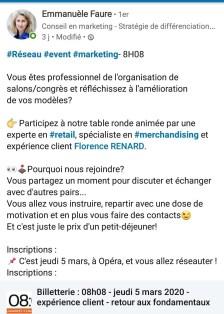 Florence Renard Retail Merchandising Consultant