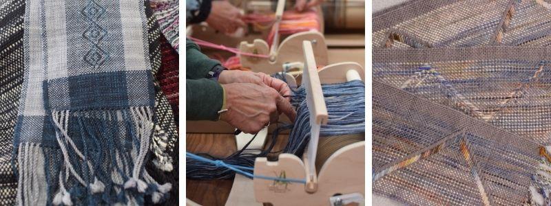 Weavings by Instructor Jennifer Krause