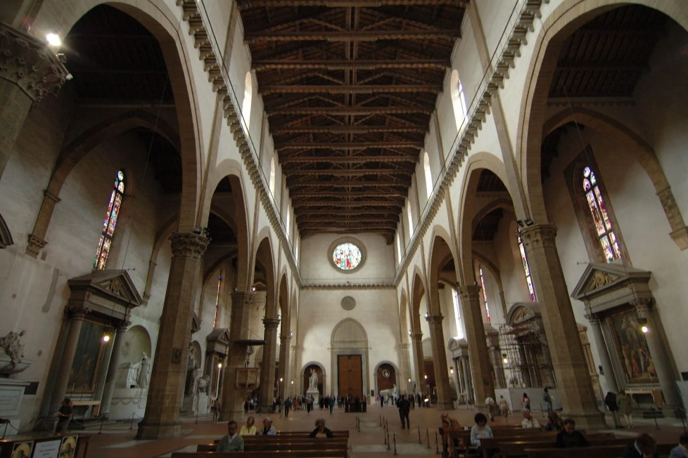 Santa Croce in Florence, interior