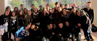 Group of Students - Harding University & Russell Newton