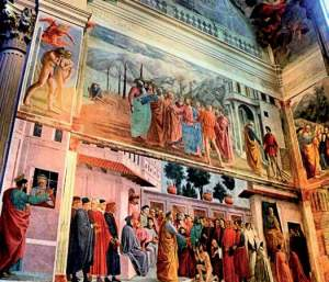 Brancacci chapel in Santa Maria del Carmine, Firenze