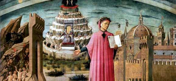 Dominico de Michelino - Dante Alighieri