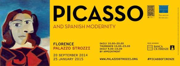 Pablo Picasso in Palazzo Strozzi (20 September 2014 - 25 January 2015)