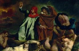 Eugène Delacroix, The Barque of Dante (1822)
